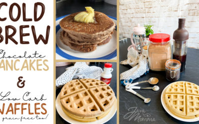 Cold Brew Pancakes and Grain Free Waffles